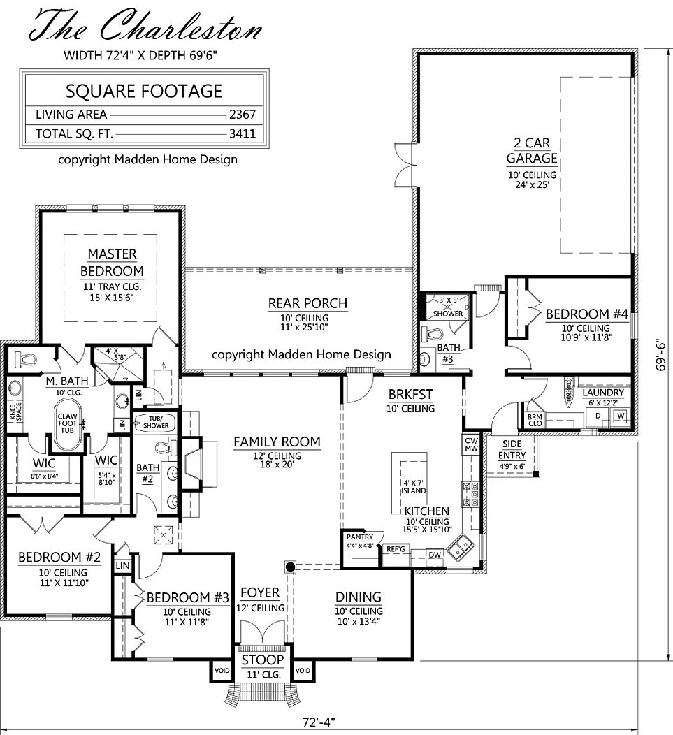 Madden Home Design The Charleston
