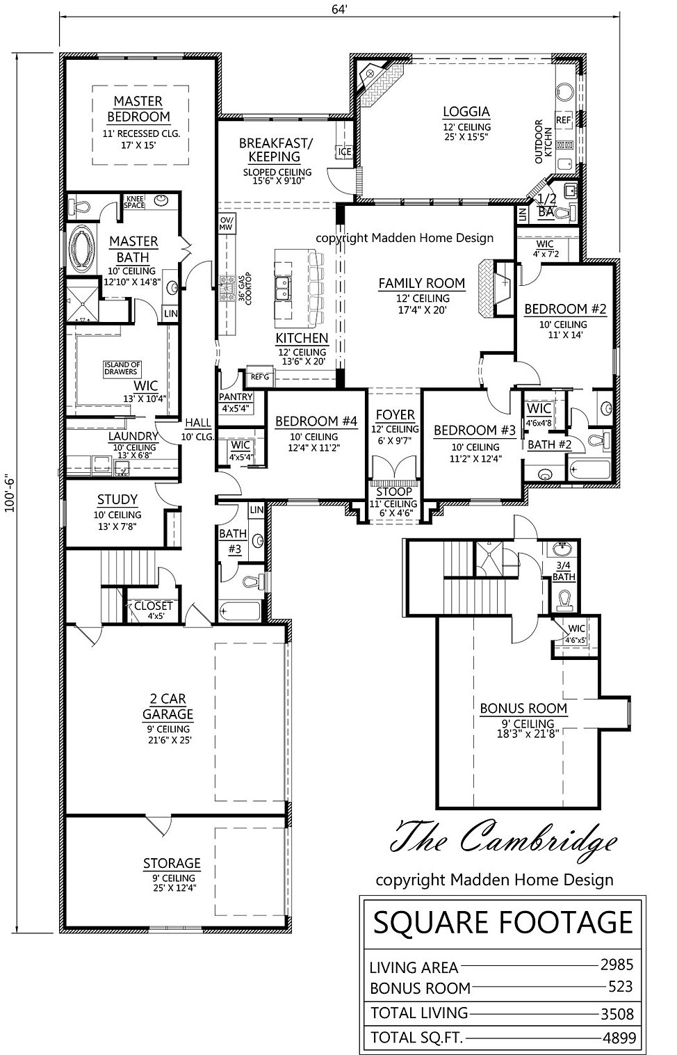 madden home design - the cambridge