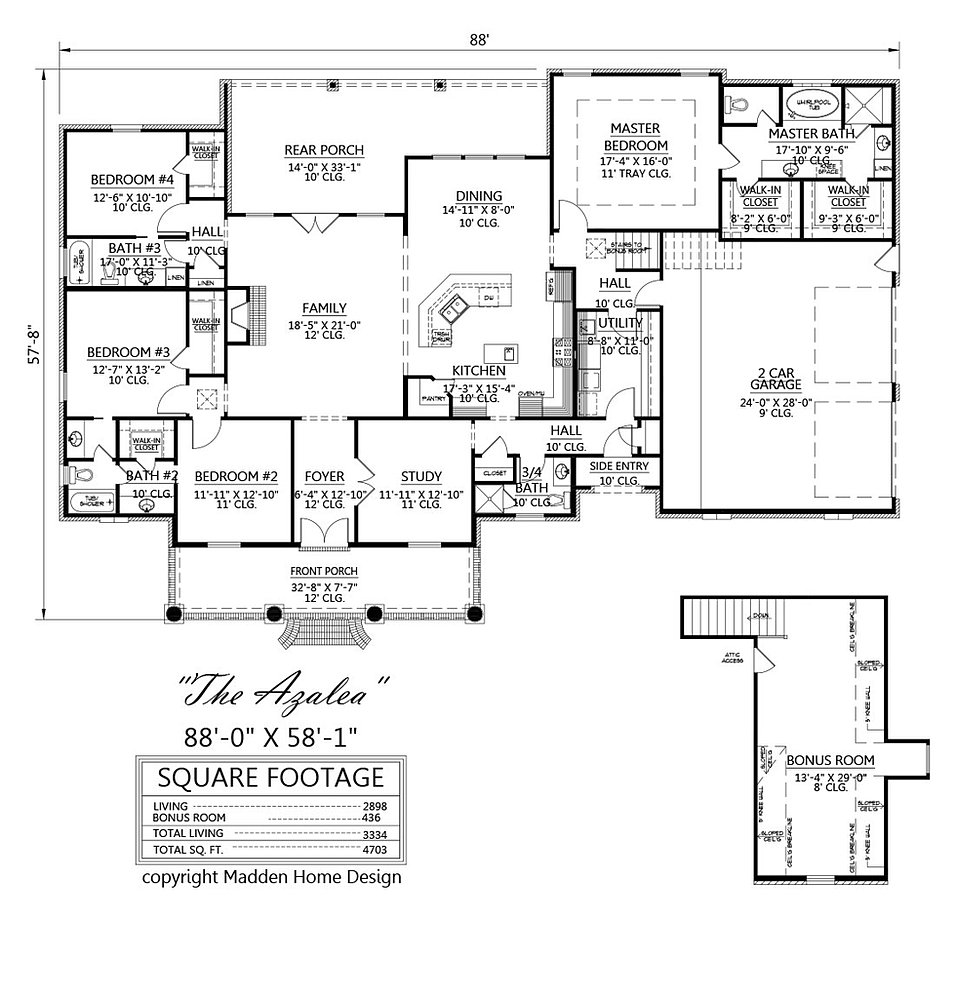 madden home design - the azalea