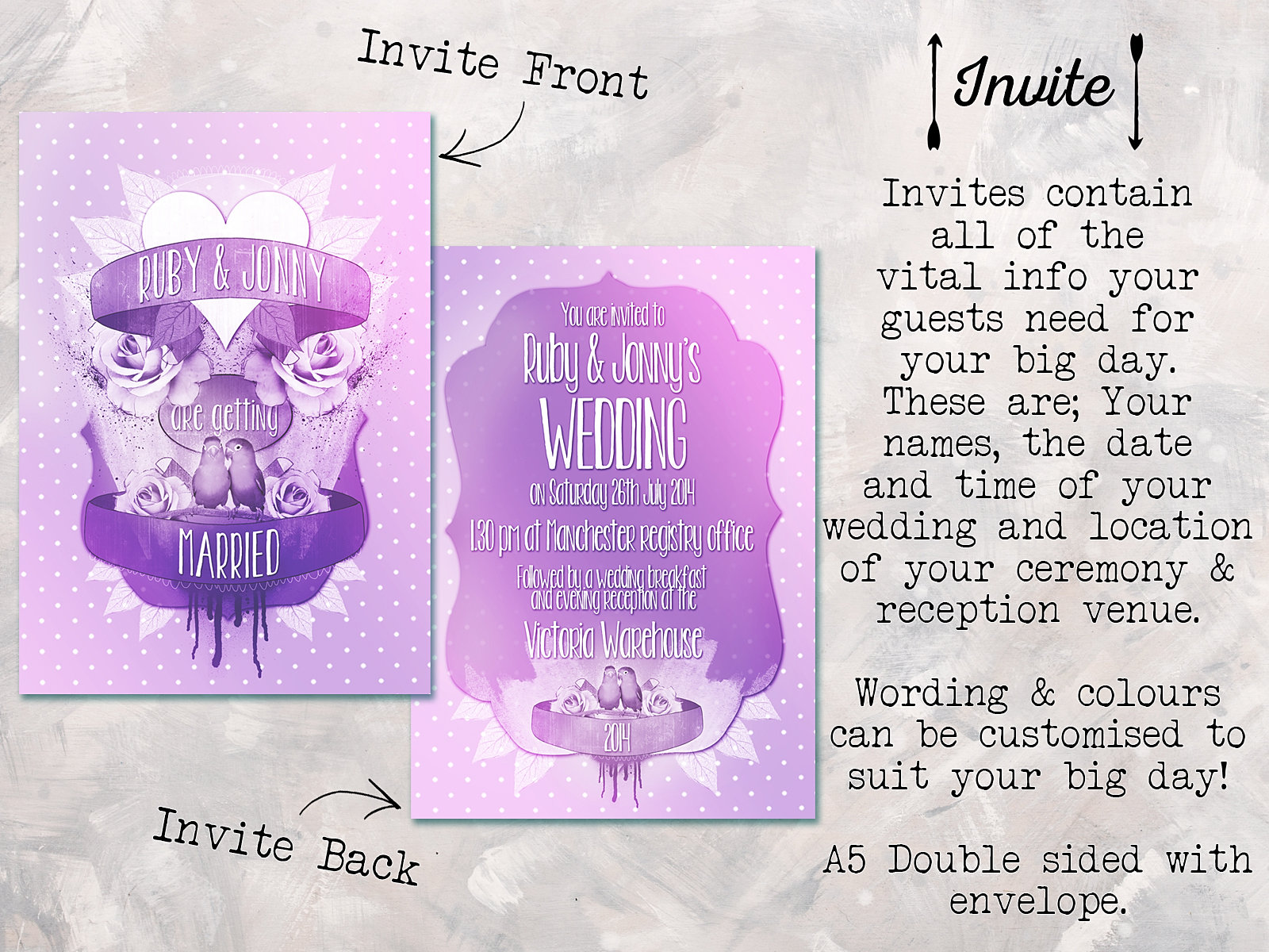 Wedding Invites Unique with awesome invitation sample