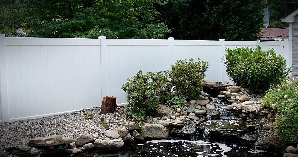 Image Result For White Vinyl Fence