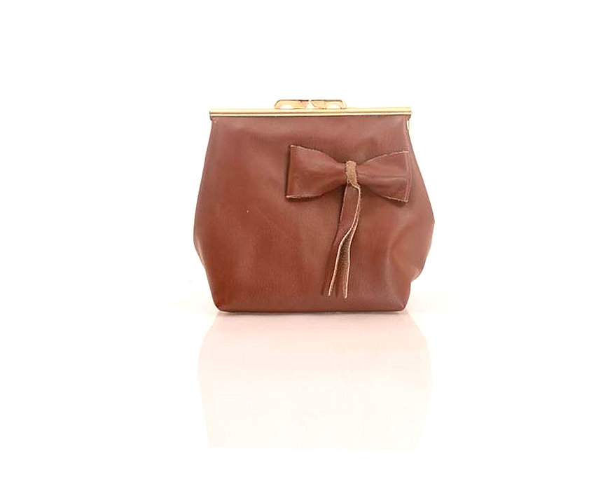 Brown Elegant Clutch