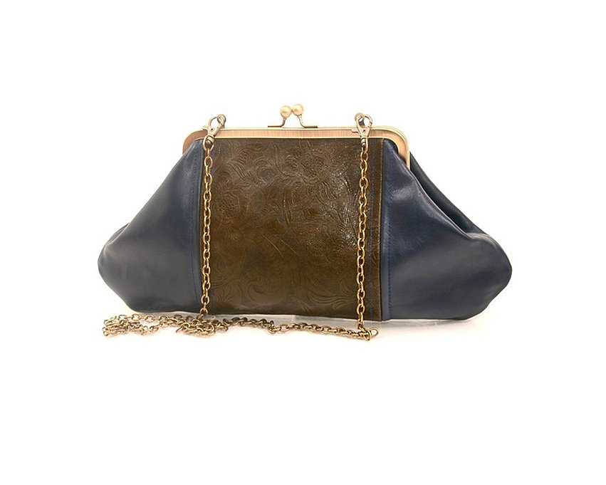 Big Leather Clutch