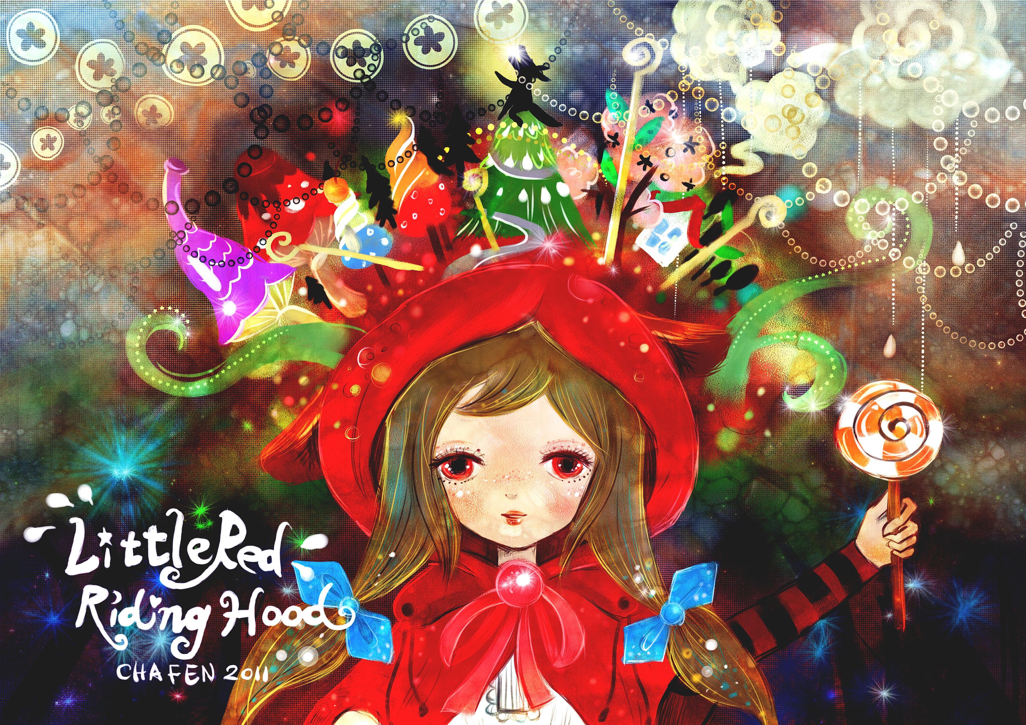 插畫繪本風 小紅帽 Little Red Riding Hood 程佳芬1 Jpg