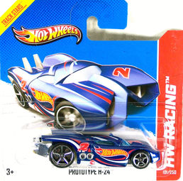 Hot Wheels Prototype H Color Page