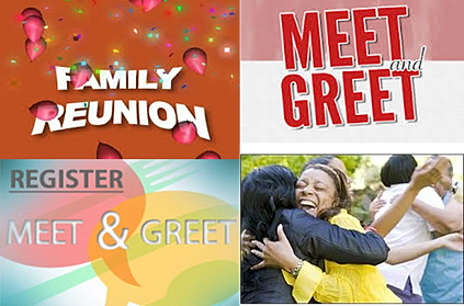 meet and greet games for family reunion