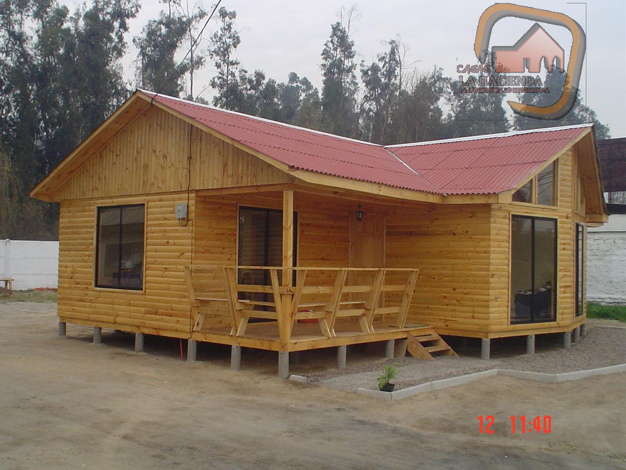 Casas prefabricada la hacienda - Refugios de madera prefabricados ...