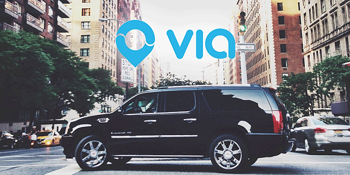 Drive with Via Shared Car Service!