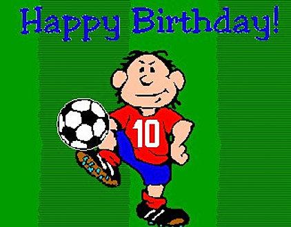 Поздравление с днем рождения футболисту брату