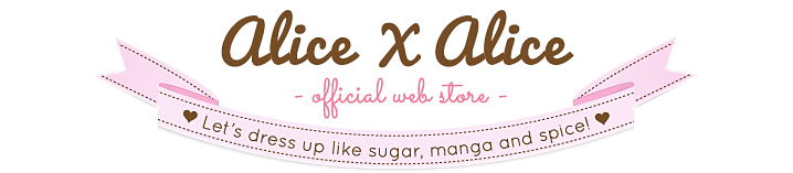 Alice X Alice Kawaii Fashion Brand Logo