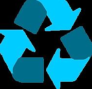 recycling-symbol-icon-twotone-light-blue