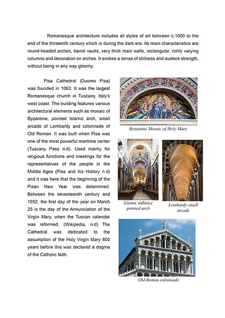 romanesque art history essay The romanesque and gothic architectural styles were distinctive in not only the massiveness of the romanesque monuments and the introduction of the cruciform plan but also for the introduction of the gothic era art within the cathedrals which included the inclusion of art the radiating rose window, co.