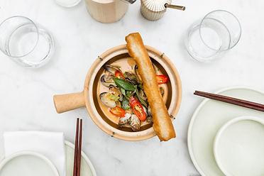 nénu, Brussels vietnamese restaurant, group dining, family, trendy