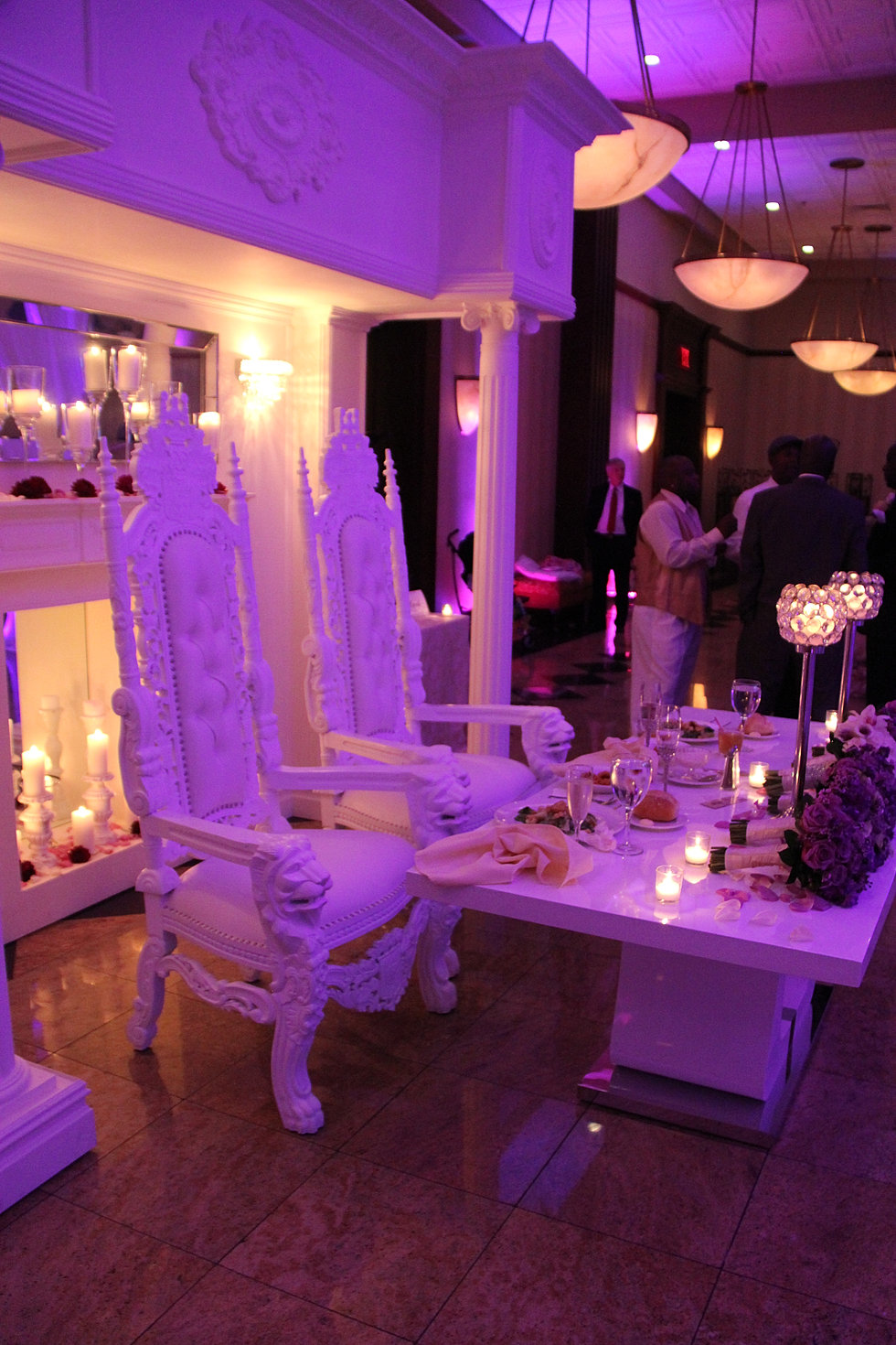 Bride Groom Table Decoration Bride And Groom Sweetheart Table King And Queen Chairs