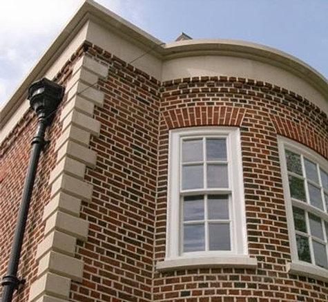 Easy fix quoin corner block cladding for Brick quoins