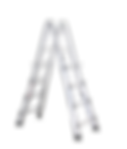 31601 Alu-Vario-Klappleiter als Stehleit