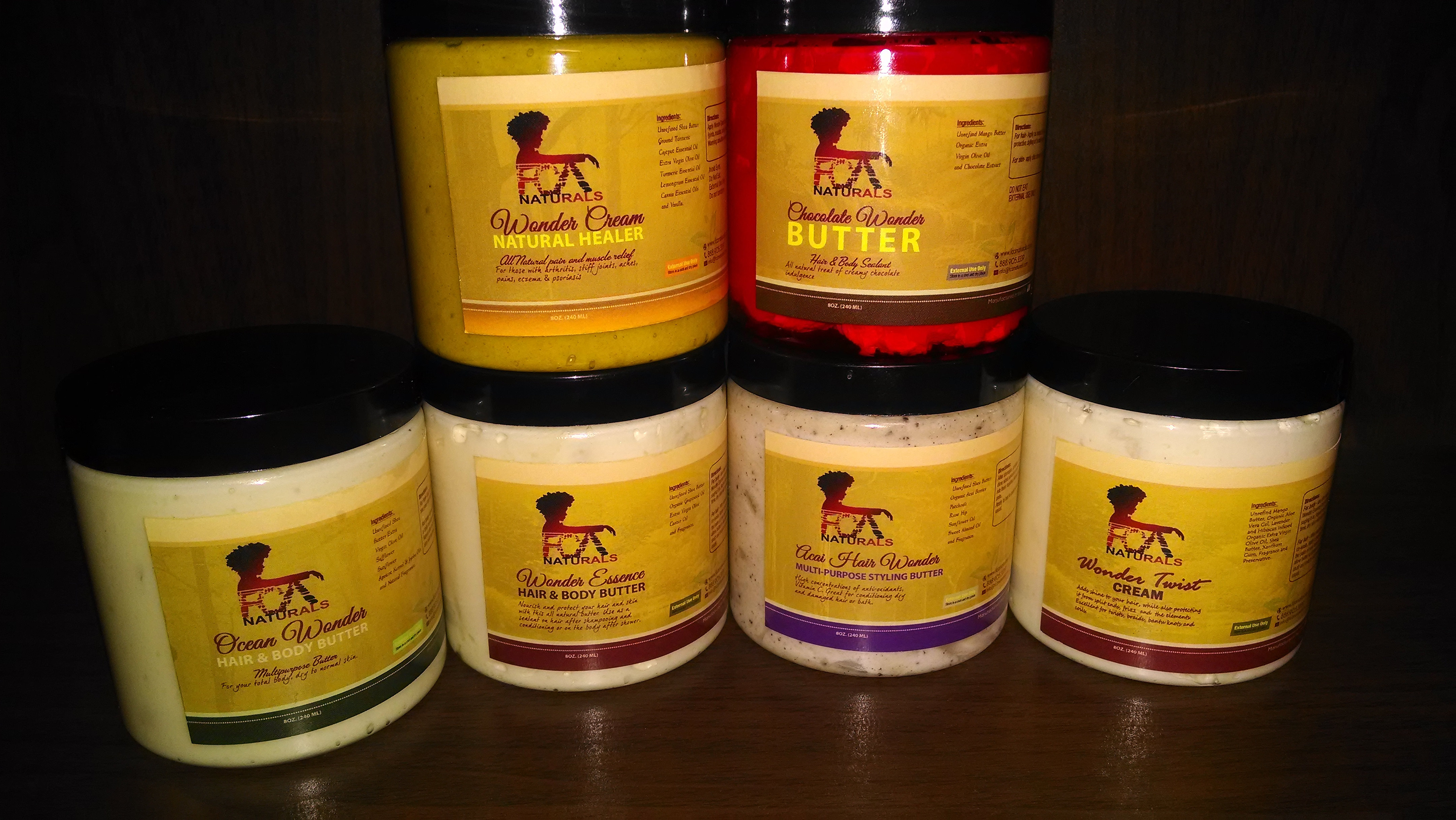 all natural butters for hair & body! Natural hair products, natural