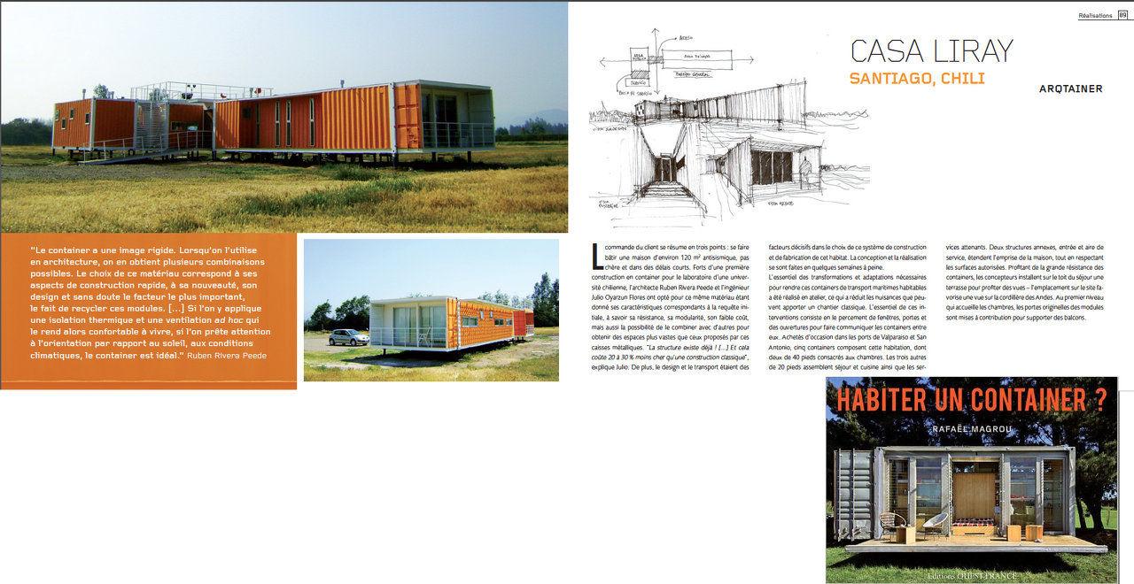 Arquitectura y construcci n en containers y otras for Habiter un container