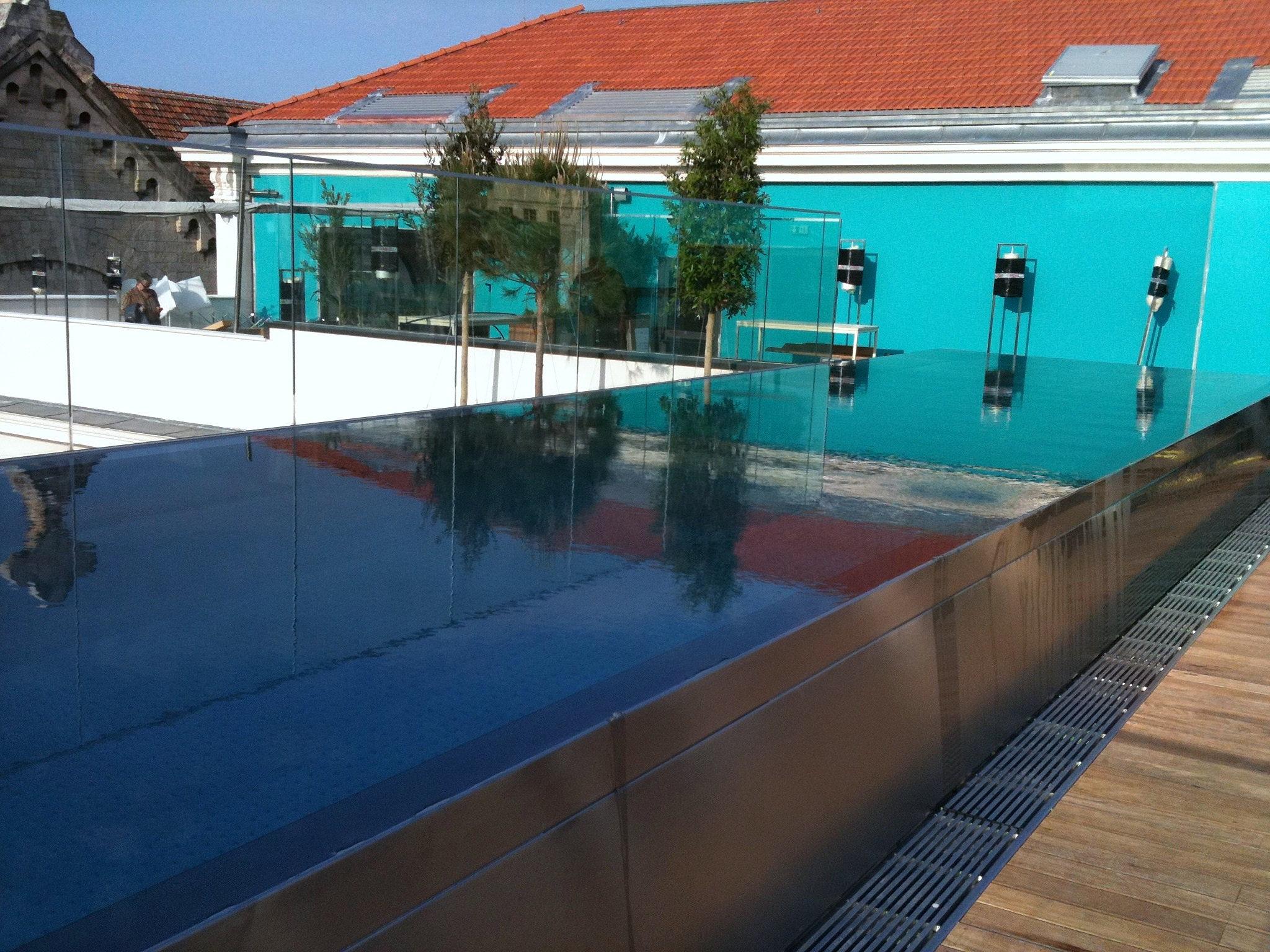 Petris plomberie piscine d bordement en inox 2 for Piscine 3 05 x 1 22