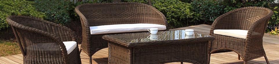 Oasis Outdoor Furniture Cast Aluminum Wood Rattan and Mosiac Tile Outdoo