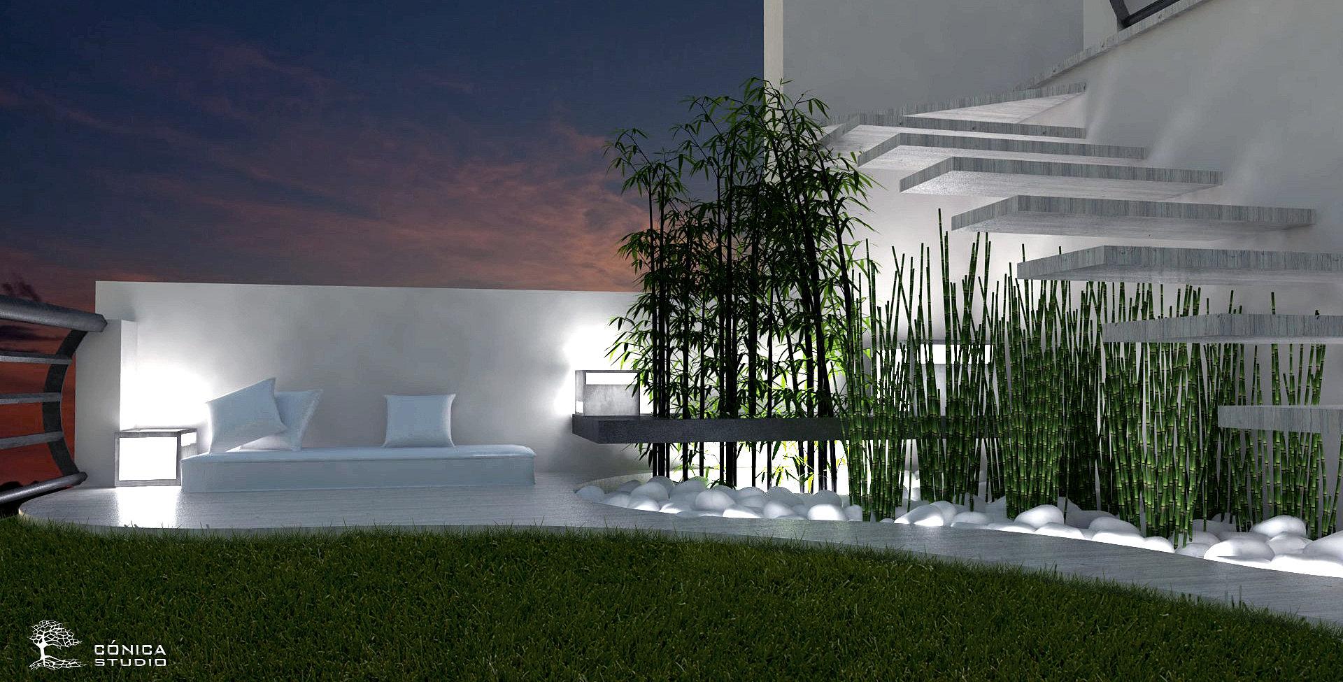 Conica studio dise o de interiores dise o de jardines - Diseno de jardines interiores ...