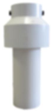 top of no-vault pump filter