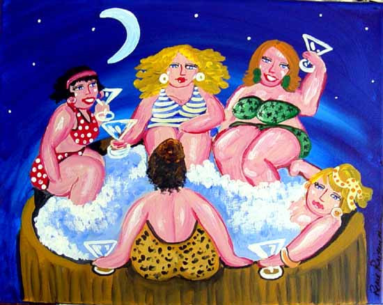 Image result for painting hot tub