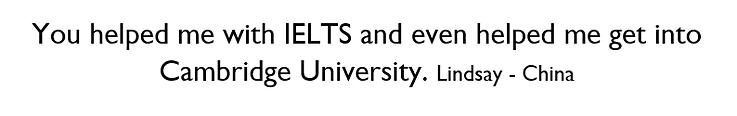 Cambridge University and ielts king