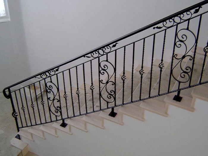 Andys Wrought Iron Fences Gates And Doors Indoor Rail