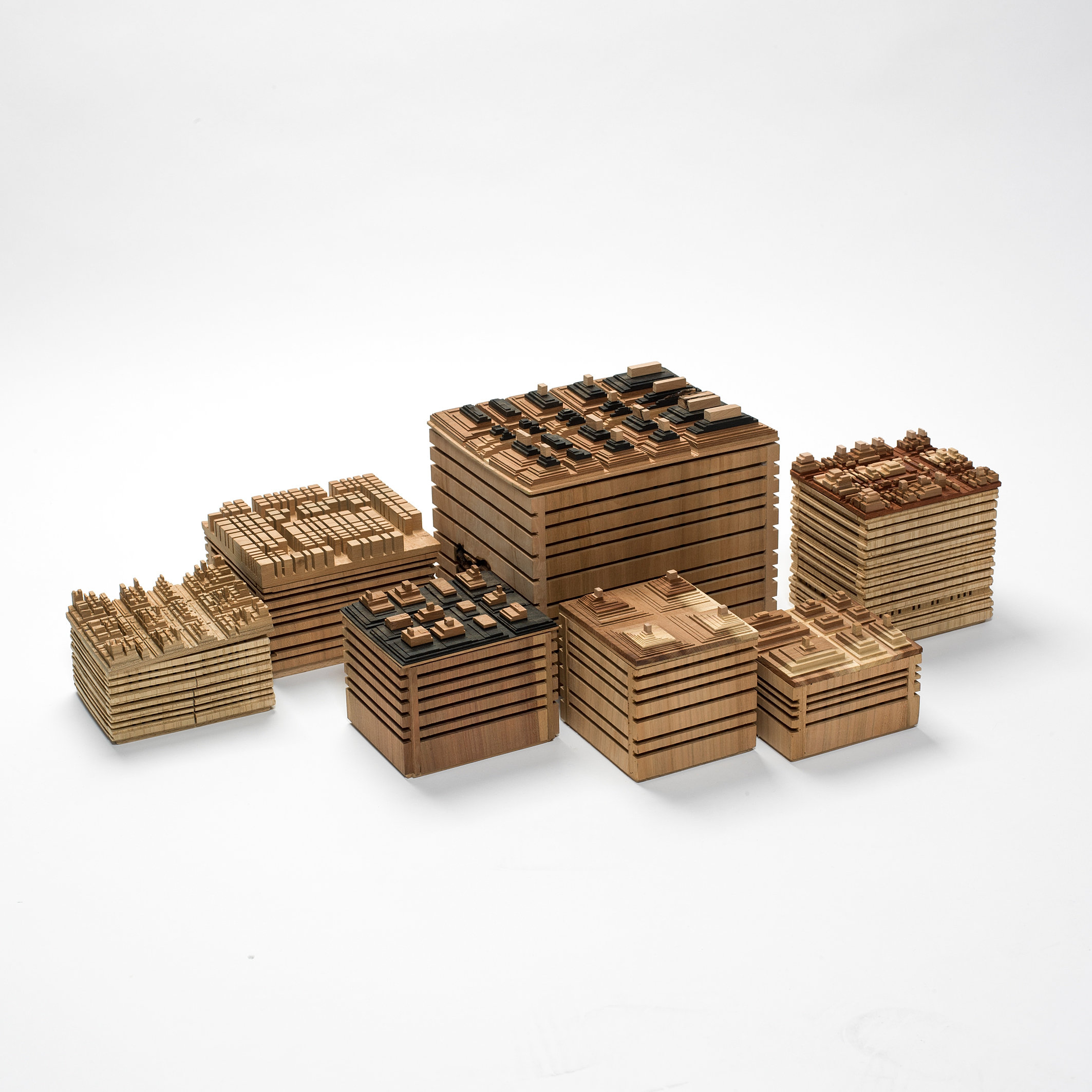 cr ation de luminaire en bois france gilles ansel boite en bois design. Black Bedroom Furniture Sets. Home Design Ideas