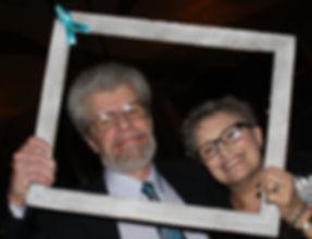 Survivor Laura Clark Hansen with her husband Paul