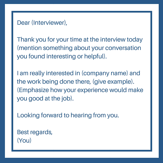 Best Follow Up Email After Interview – Sample Follow Up Email After Interview