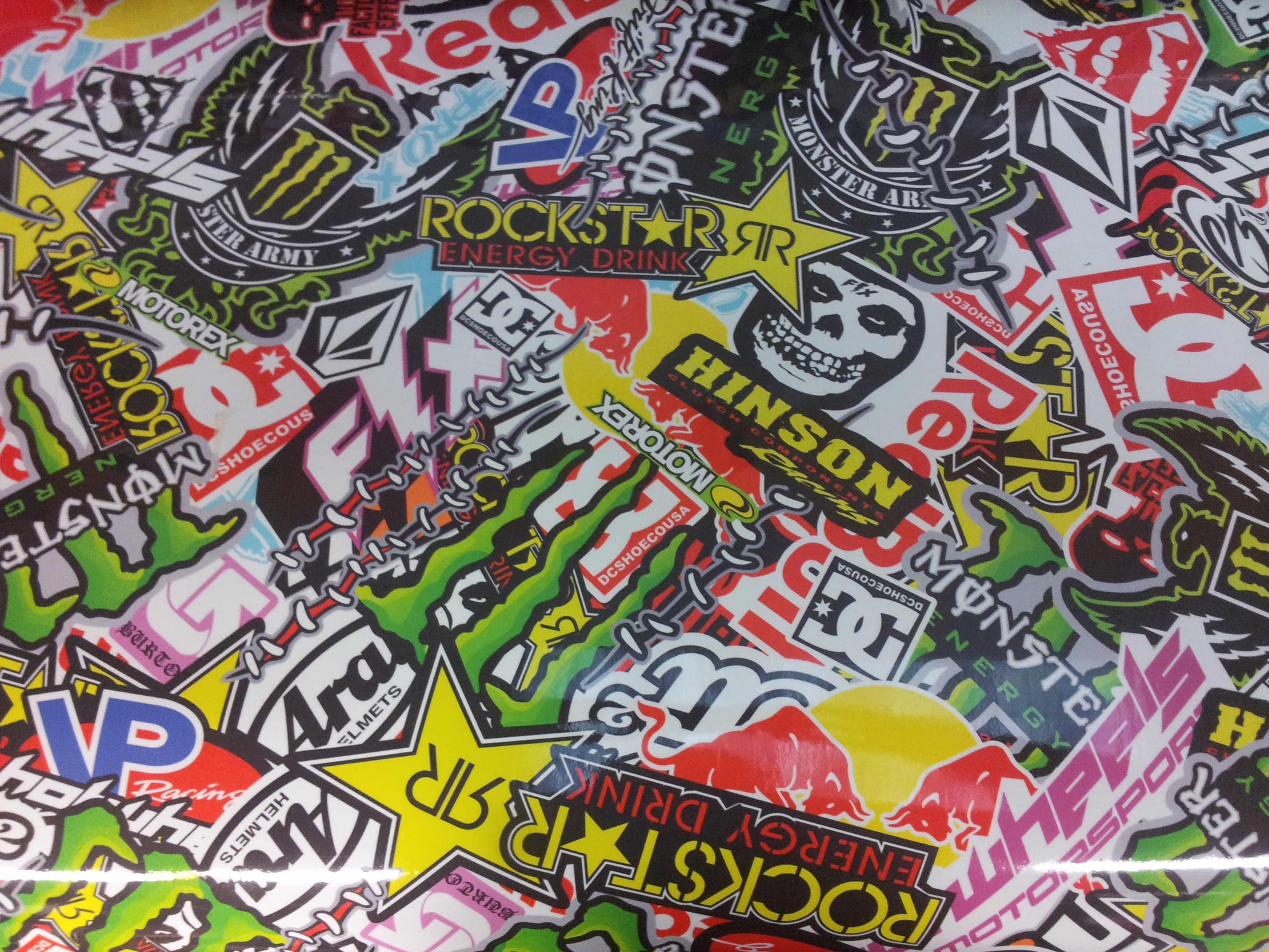 Sticker bomb car design - Order Now At Www Carwrapdirect Com For Fast Shipping To Ireland The Uk And Europe Perfect For Car Wrapping Bike Wrapping Interior Trim Spoilers And