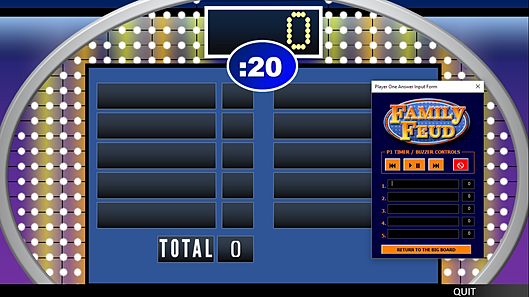 free family feud powerpoint game template  rusnak creative, Powerpoint