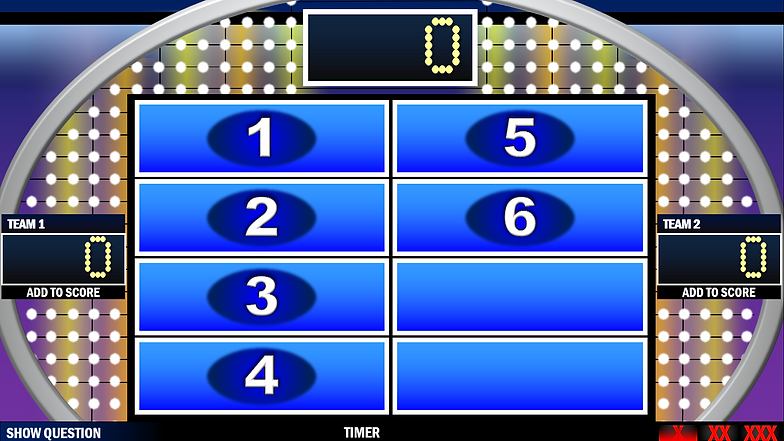 Family Feud Powerpoint Game Template Free Mandegarfo