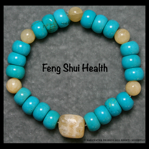 Feng Shui Health Bracelet Rainwater Designs