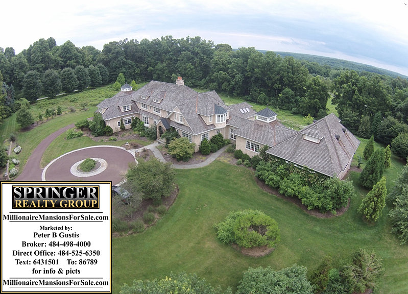 Millionaire mansions for sale luxury homes philadelphia Cost of building a house in pa