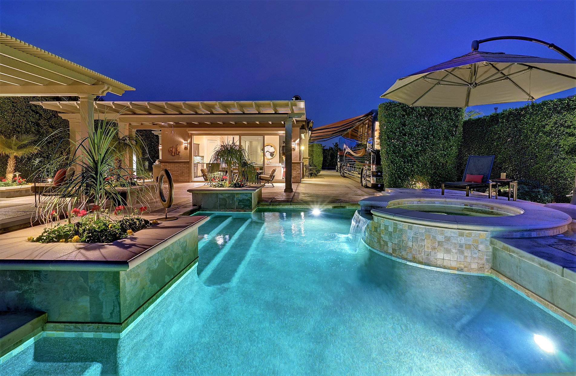 Luxury Motorcoach Resort Lot