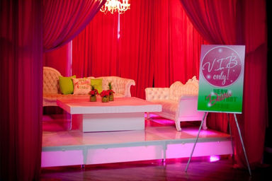 Optional vibe vip lounge