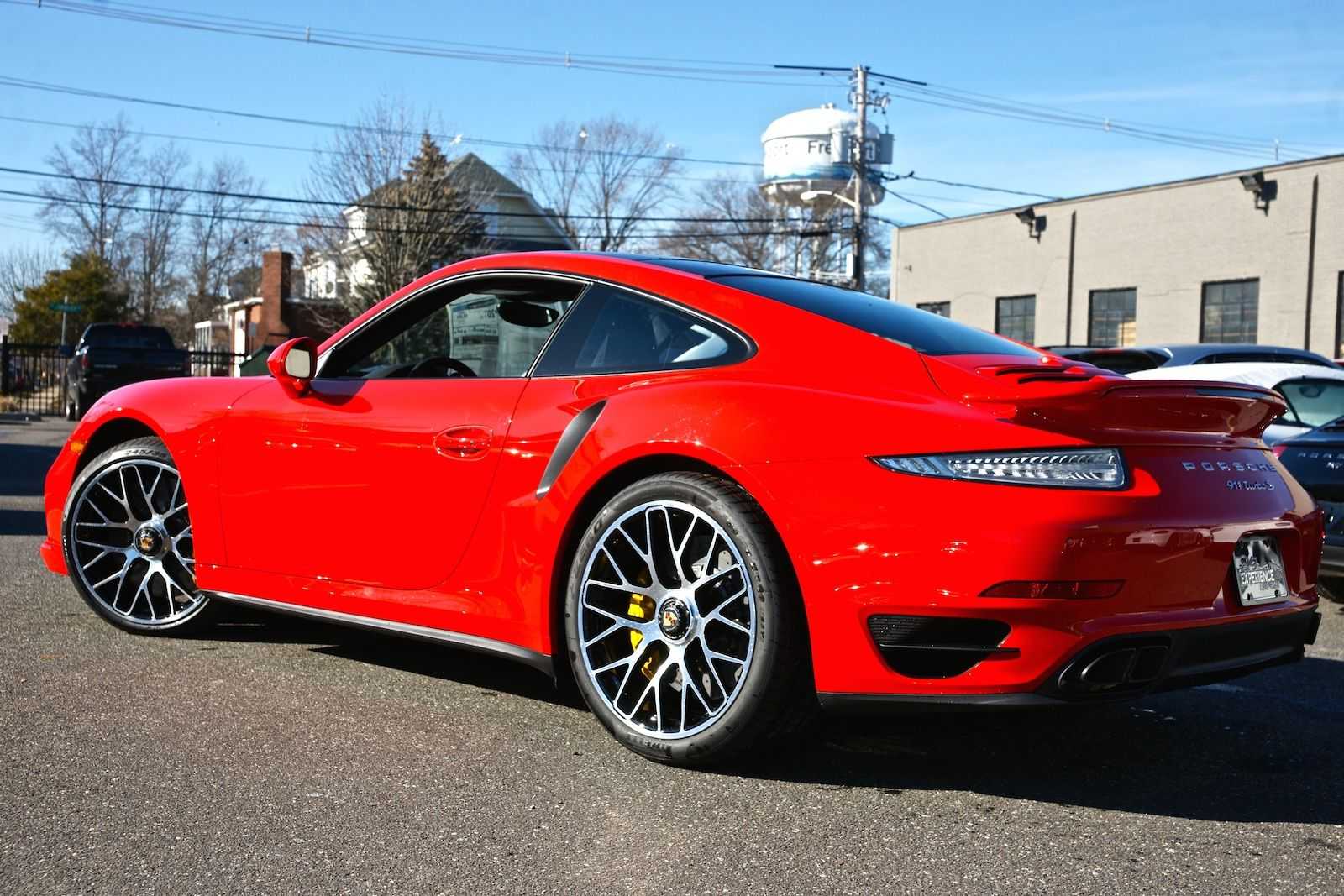 h and this is what completes the 911 turbo experience as it seems to be a