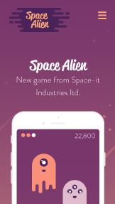 게임 앱 서비스 홈페이지