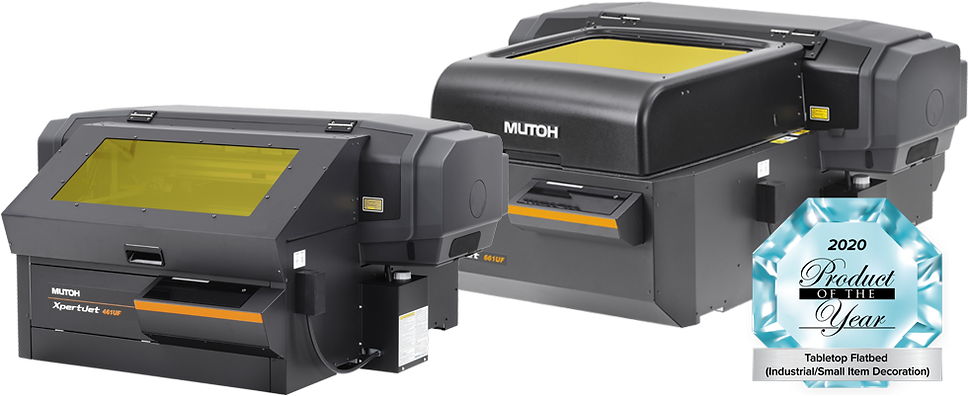 Mutoh XPJ-461UF and XPJ-661UF with Product of the Year Award