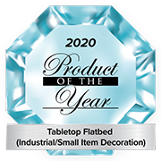 2020 Product of the Year award for Tabletop Flatbed