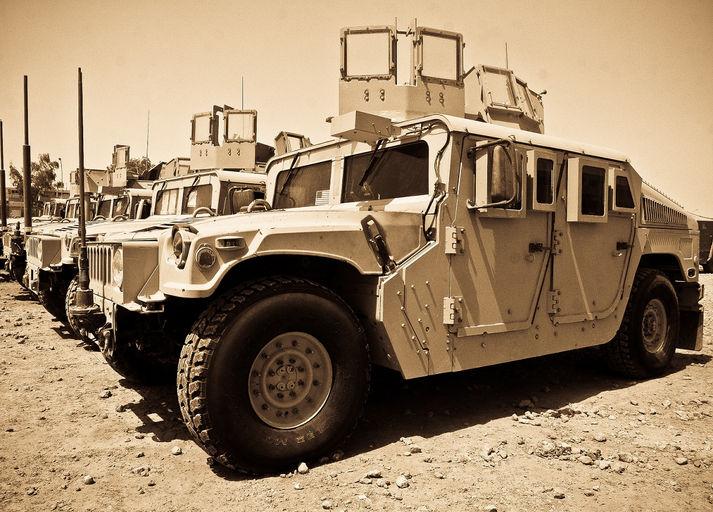 Alphatread, Military Tires