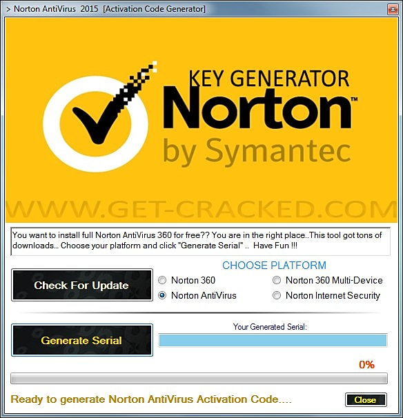 norton internet security serial key free