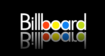 Billboard logo on black