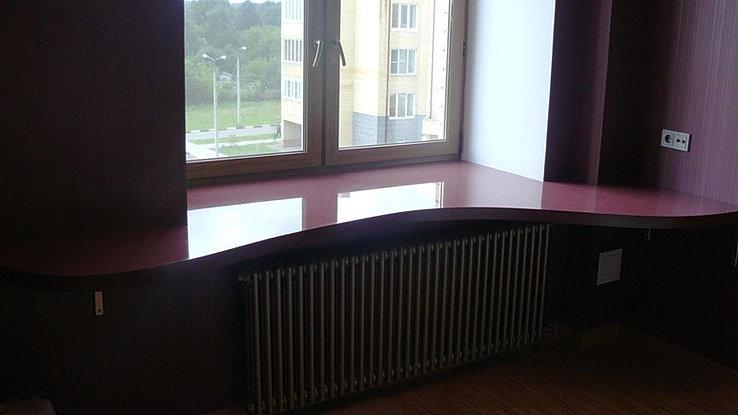 Дизайн подоконник стол