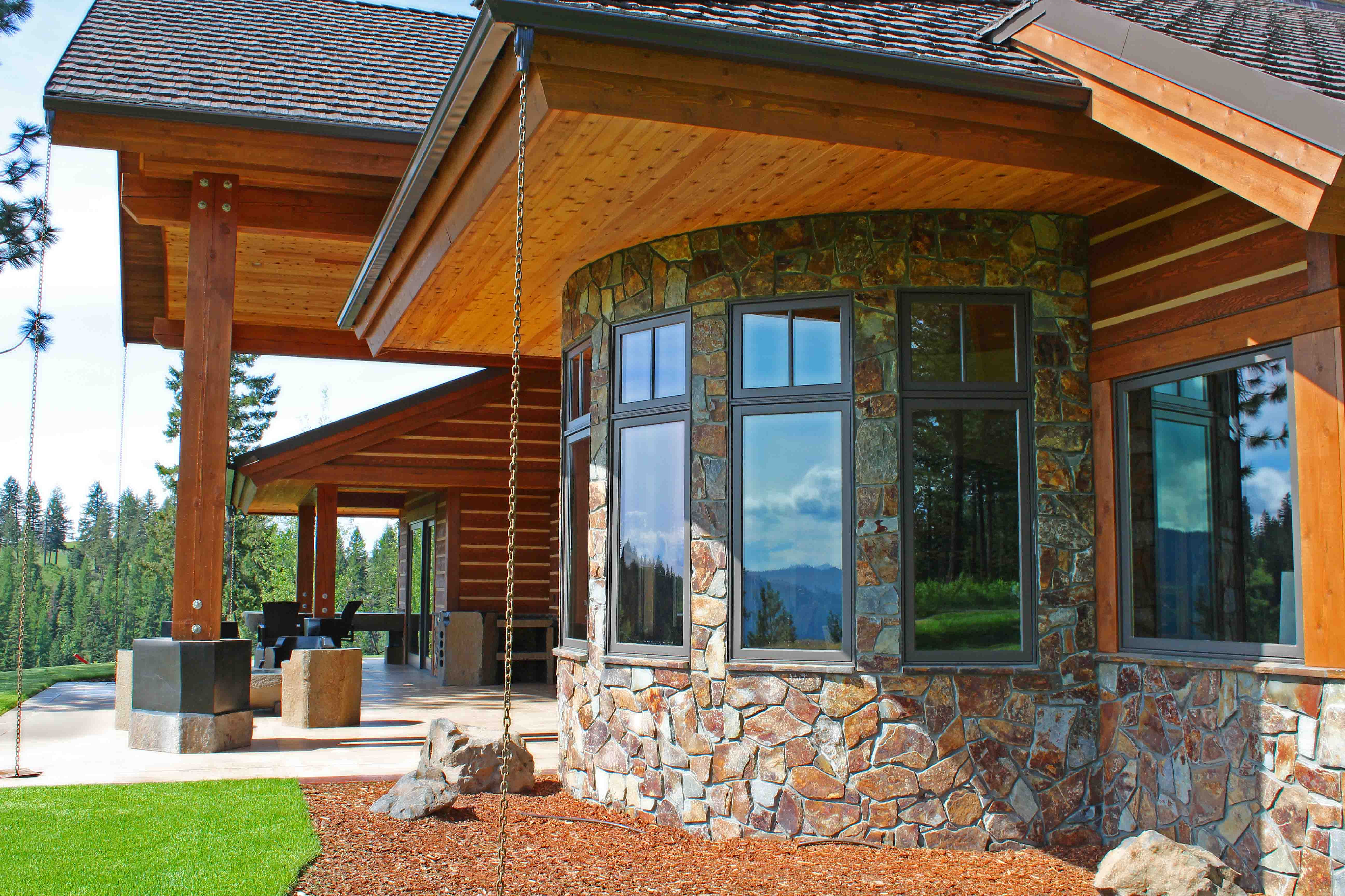 Black rock homes north idaho black rock fine homes for Cost to build a house in little rock
