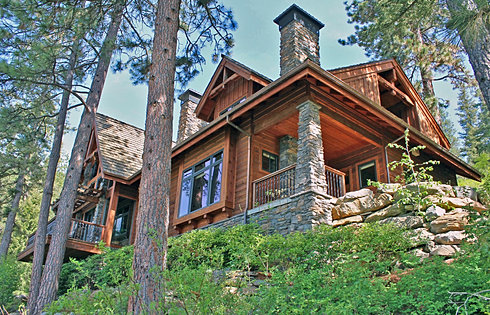 Secluded location on Lake CDA