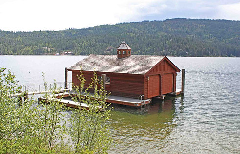 2-slip Boathouse